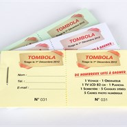 Ticket de tombola